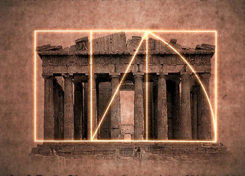 파르테논 신전의 황금비율